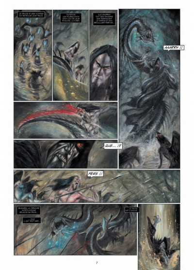 Page 5 Arawn tome 4 - le chaudron de sang