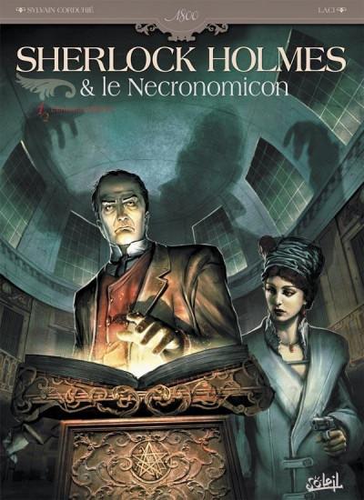 Couverture Sherlock Holmes et le Necronomicon tome 1 - l'ennemi intérieur
