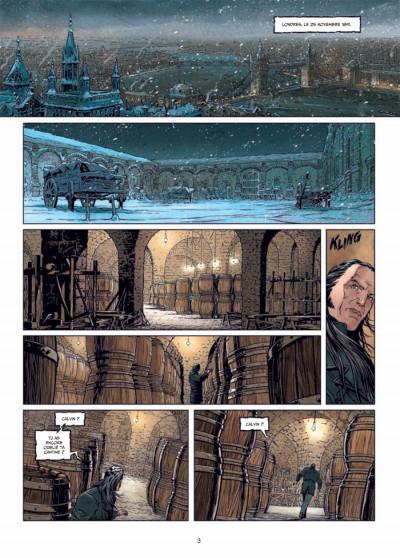 Page 1 Sherlock Holmes et le Necronomicon tome 1 - l'ennemi intérieur
