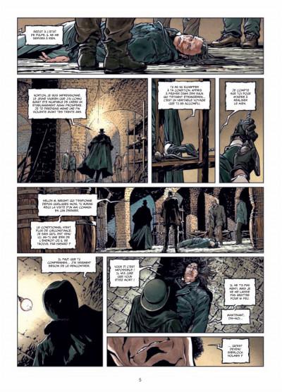 Page 3 Sherlock Holmes et le Necronomicon tome 1 - l'ennemi intérieur