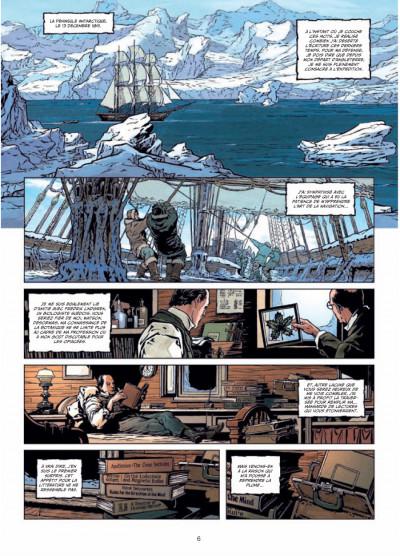 Page 4 Sherlock Holmes et le Necronomicon tome 1 - l'ennemi intérieur
