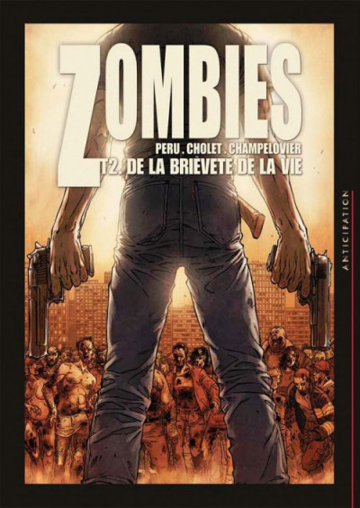 Couverture Zombies tome 2