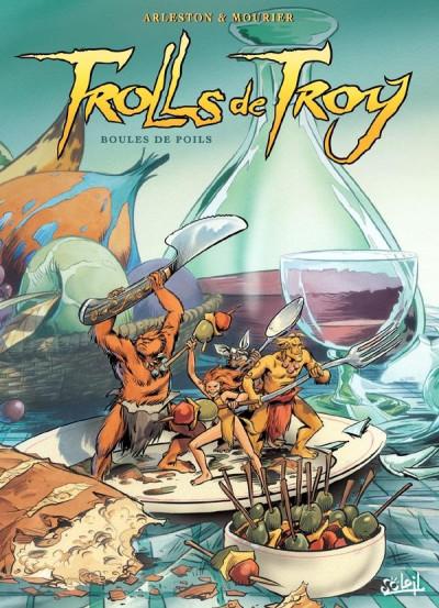 Couverture Trolls de Troy tome 15 - boules de poils