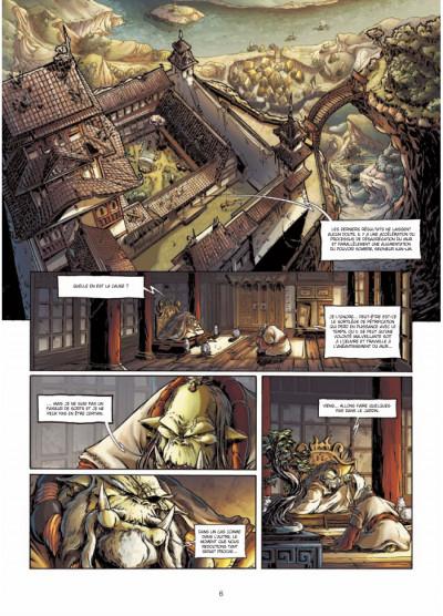 Page 4 mercenaires tome 1 - la meute du griffon
