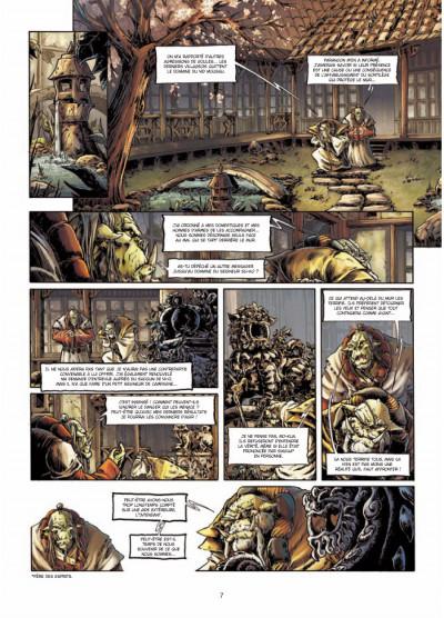 Page 5 mercenaires tome 1 - la meute du griffon