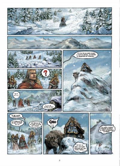 Page 4 Durandal - la marche de Bretagne tome 3