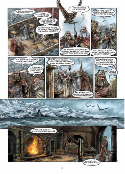Page 6 Durandal - la marche de Bretagne tome 3