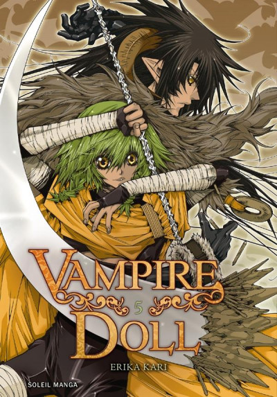 Couverture vampire doll tome 5