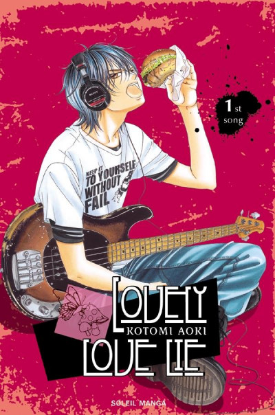 Couverture lovely love lie tome 1