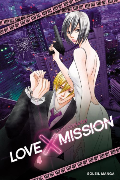 Couverture love X mission tome 4