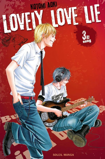 Couverture lovely love lie tome 3