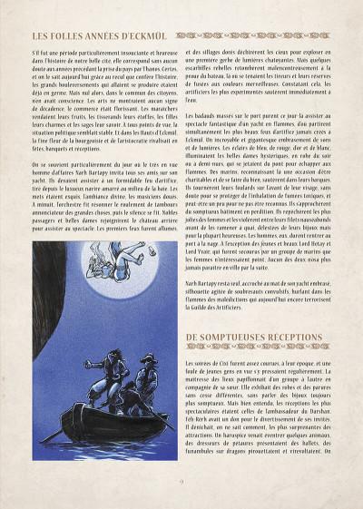 Page 0 encyclopédie anarchique du monde de Troy T.1 - données essentielles