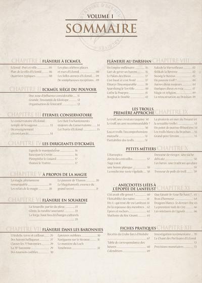 Page 5 encyclopédie anarchique du monde de Troy T.1 - données essentielles