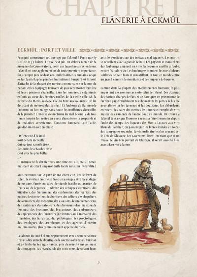 Page 6 encyclopédie anarchique du monde de Troy T.1 - données essentielles
