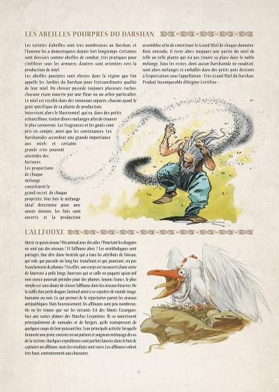 Page 7 encyclopédie anarchique du monde de Troy T.3 - le bestiaire