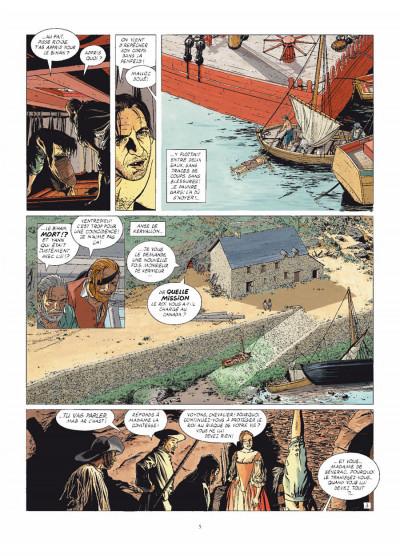 Page 3 L'épervier tome 8