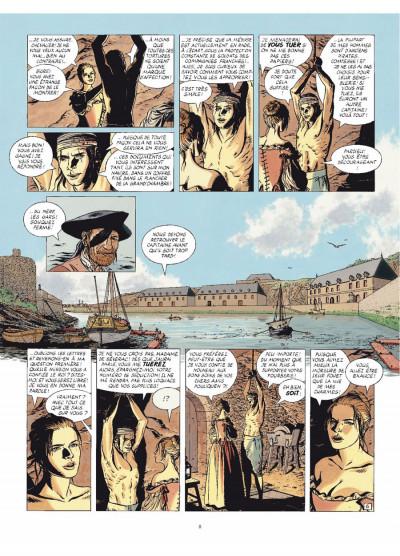 Page 6 L'épervier tome 8