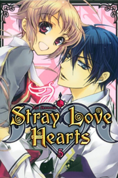 Couverture stray love hearts tome 5