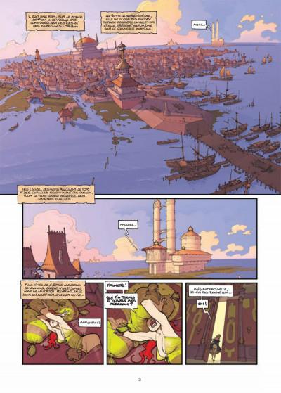 Page 1 légendes de Troy ; l'heure de la gargouille