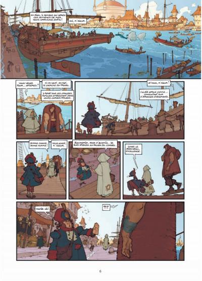 Page 4 légendes de Troy ; l'heure de la gargouille
