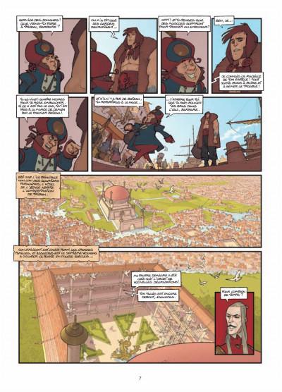 Page 5 légendes de Troy ; l'heure de la gargouille