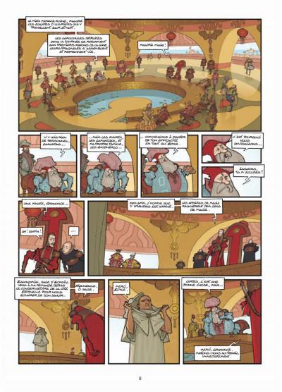 Page 6 légendes de Troy ; l'heure de la gargouille