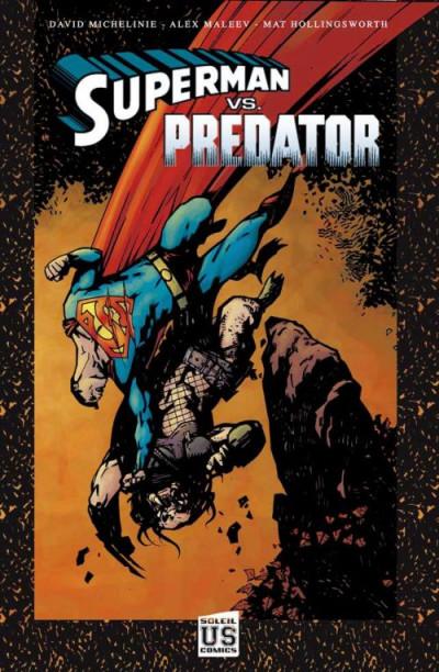 Couverture Superman vs. Predator