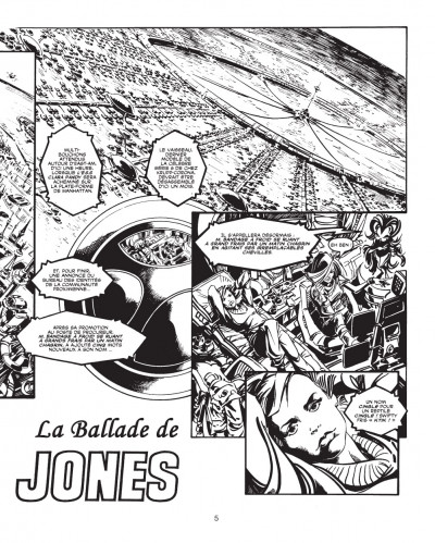 Page 2 les trésors d'Alan Moore ; la ballade d'Halo Jones