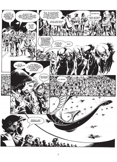 Page 4 les trésors d'Alan Moore ; la ballade d'Halo Jones