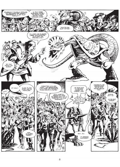 Page 5 les trésors d'Alan Moore ; la ballade d'Halo Jones