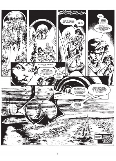 Page 6 les trésors d'Alan Moore ; la ballade d'Halo Jones