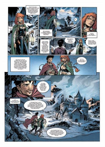 Page 5 chroniques de la guerre des fées tome 1 - dans la gueule du loup