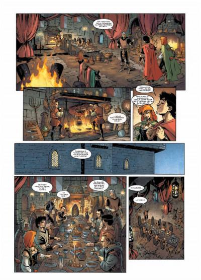 Page 6 chroniques de la guerre des fées tome 1 - dans la gueule du loup