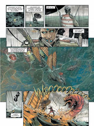 Page 1 déluge tome 1 - retour