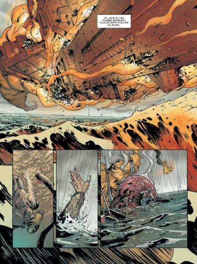 Page 2 déluge tome 1 - retour