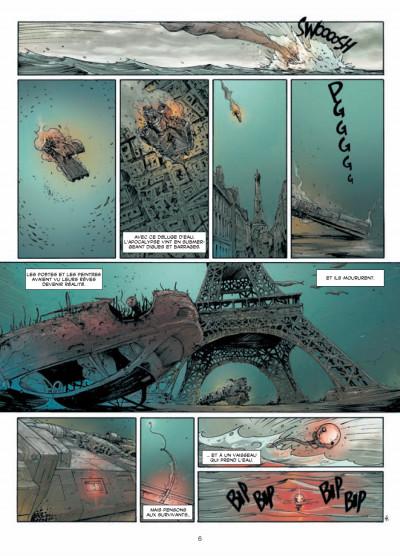 Page 4 déluge tome 1 - retour