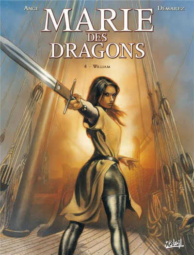 Couverture Marie des dragons tome 4 - William