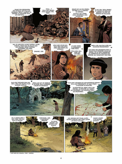 Page 5 Marie des dragons tome 4 - William