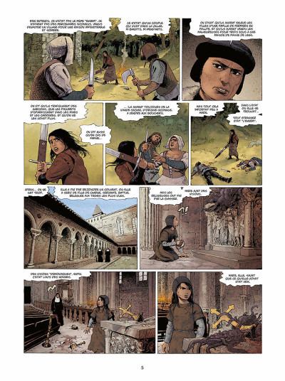 Page 6 Marie des dragons tome 4 - William