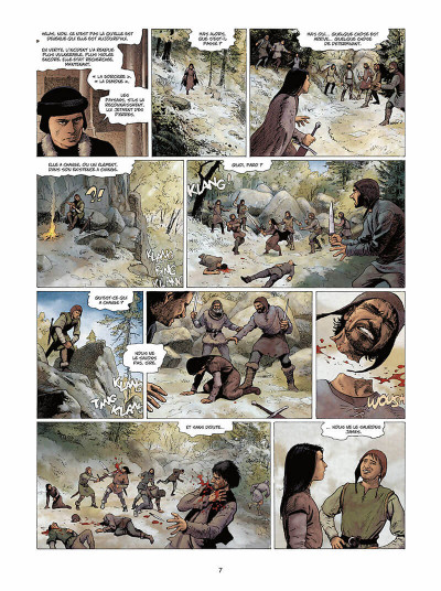 Page 8 Marie des dragons tome 4 - William