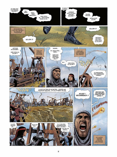 Page 9 Marie des dragons tome 4 - William