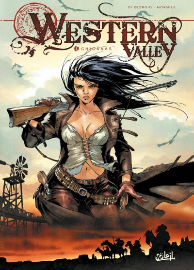 Couverture western valley tome 1 - chicanas
