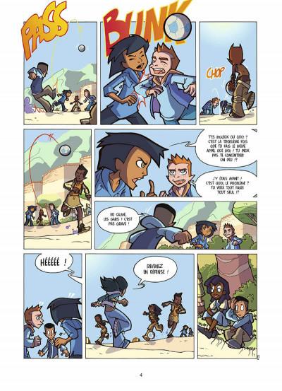 Page 5 foot 2 rue, saison trois tome 17 - l'esprit d'équipe