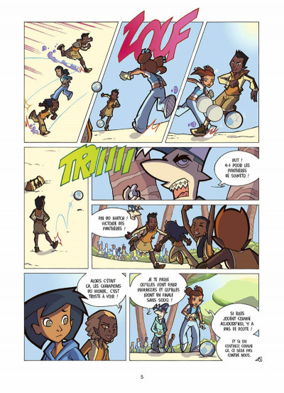 Page 6 foot 2 rue, saison trois tome 17 - l'esprit d'équipe