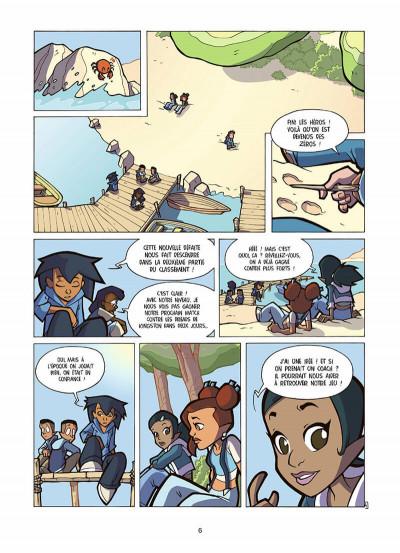 Page 7 foot 2 rue, saison trois tome 17 - l'esprit d'équipe