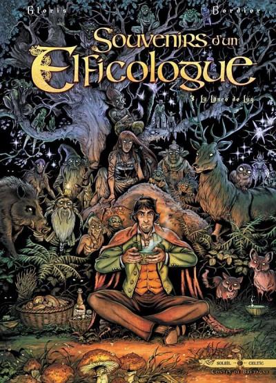 Couverture souvenirs d'un elficologue tome 3 - la lance de Lug