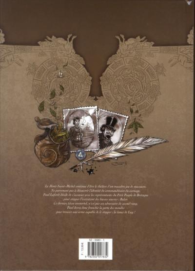 Dos souvenirs d'un elficologue tome 3 - la lance de Lug