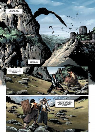 Page 1 Dracula, l'ordre des dragons tome 1 - l'enfance d'un monstre