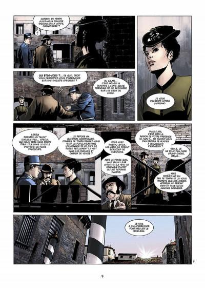 Page 0 Dracula, l'ordre des dragons tome 1 - l'enfance d'un monstre