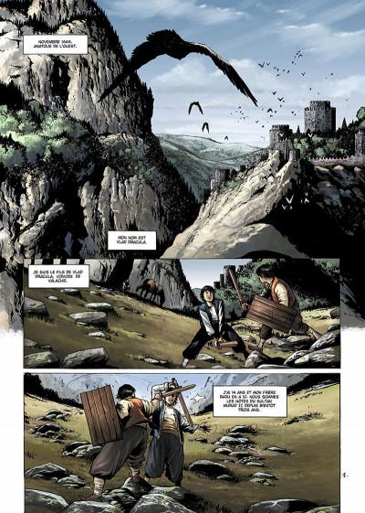 Page 4 Dracula, l'ordre des dragons tome 1 - l'enfance d'un monstre